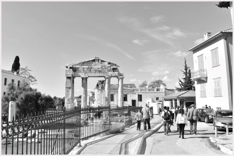 Athens in B&W: 40