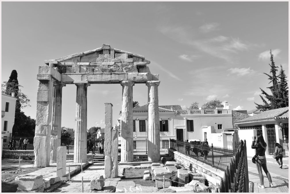 Athens in B&W: 41