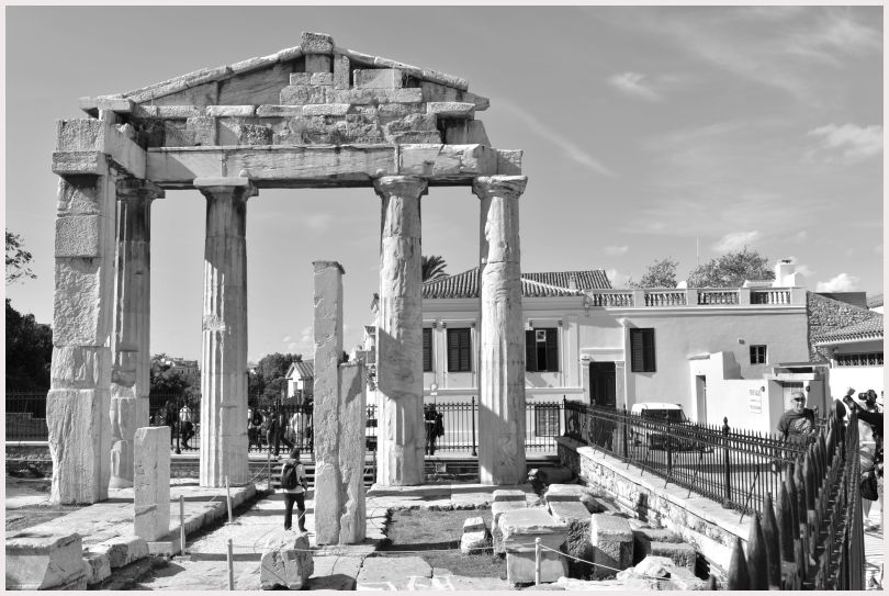 Athens in B&W: 42