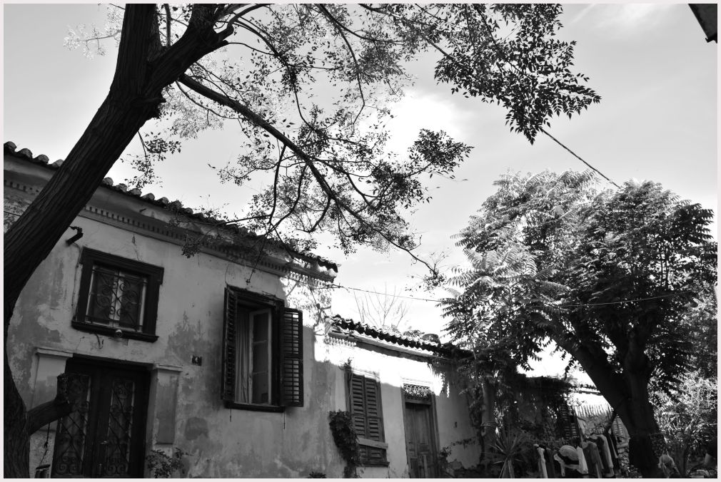 Athens in B&W: 45