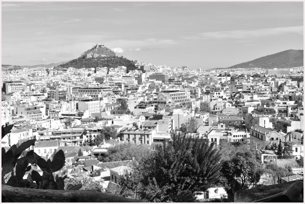 Athens in B&W: 49