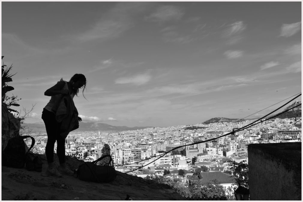 Athens in B&W: 50