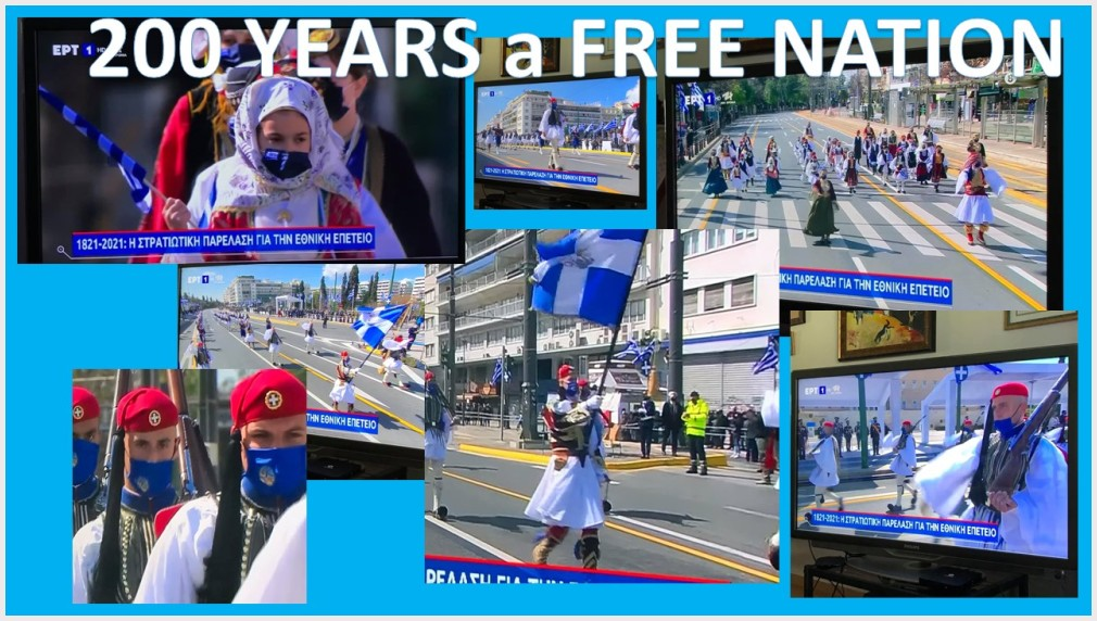 GREECE, 200TH anniversary as a FREE NATION