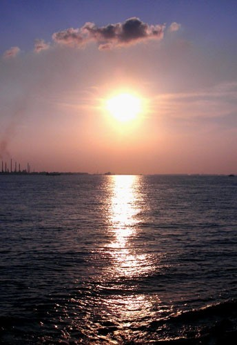 Sunset at Sentosa