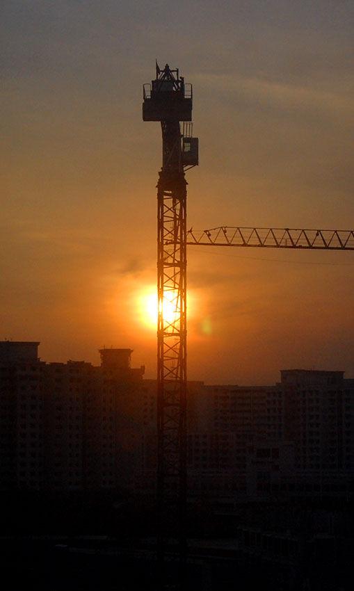 Sunrise at Sengkang, Singapore