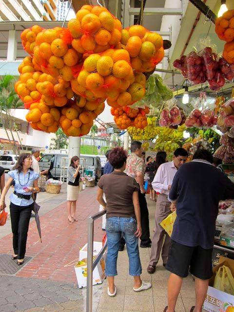 Fruit stalls, singapore