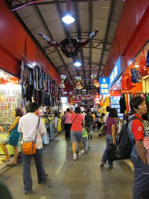 Night stalls at Bugis Street, Singapore