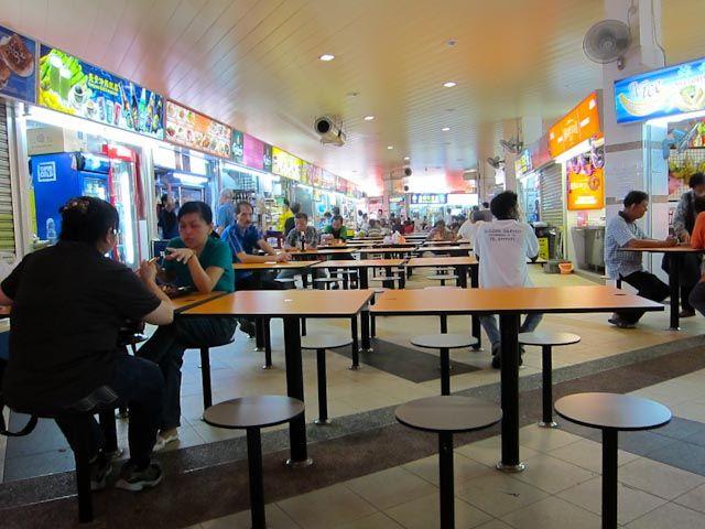 Coffeeshop in Singapore