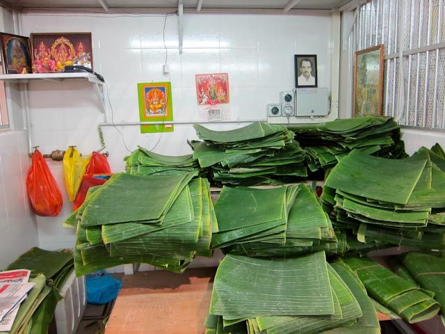 Leaves for wrapping rice