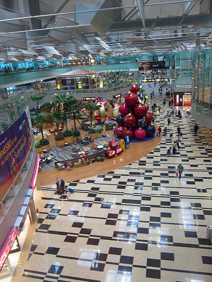 Changi Airport terminal 3, Singapore