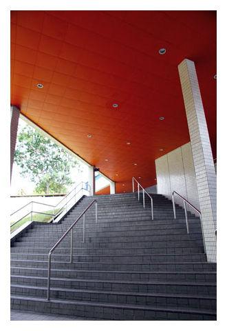 Staircase near block 31, Ngee Ann Poly, Singapore