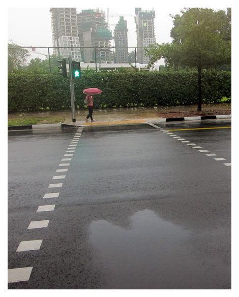 Rainy day, Singapore