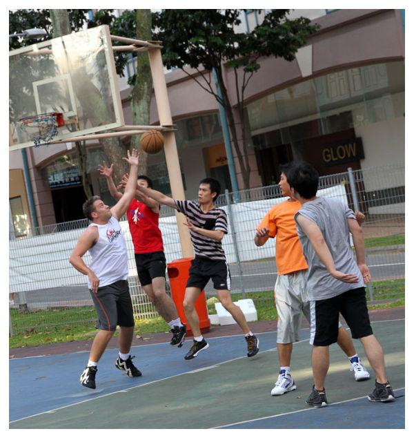 Street basketball, Singapore