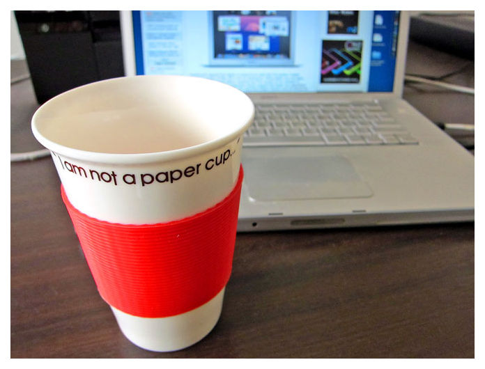 This is not a paper cup