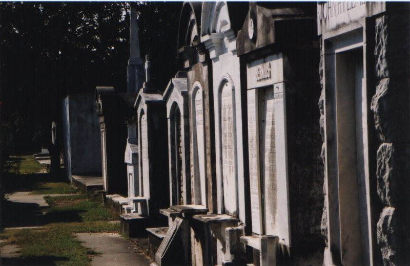 Graveyard in New Orleans