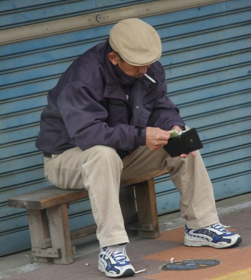 Yokohama man killing time