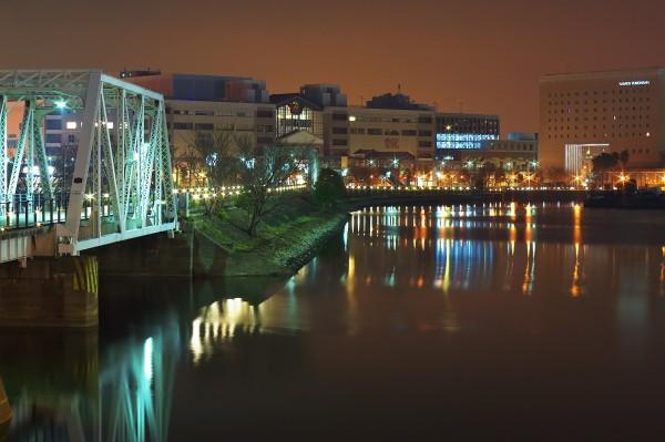 Yokohama's Minato Mirai area at 4 a.m.