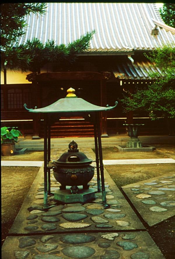 Buddhist temple in Kiryu, Japan