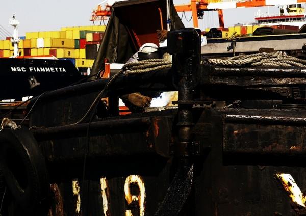 Barge Welder