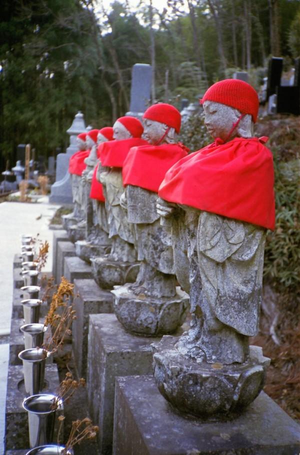 And Yet More Jizo Statues
