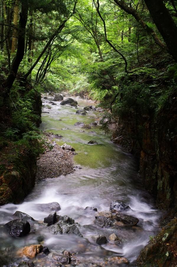 Odaira River in eastern Gunma Prefecture