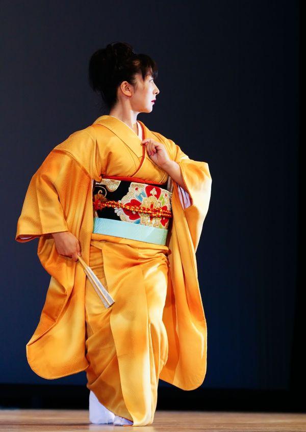 Golden Kimono I