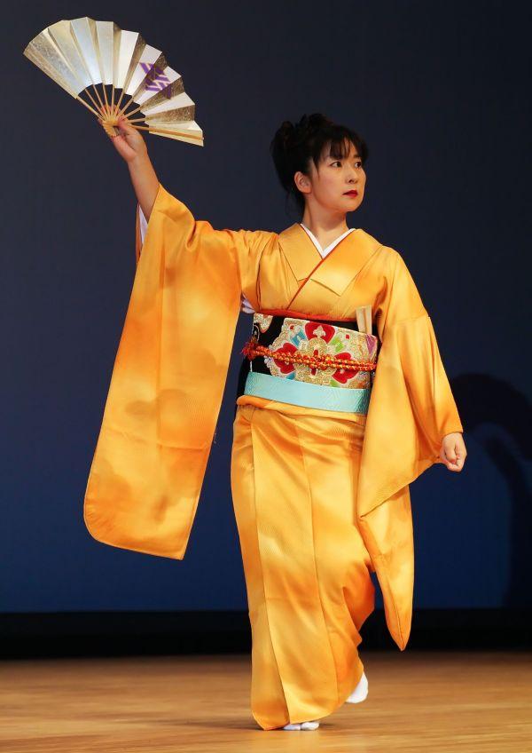 Golden Kimono II