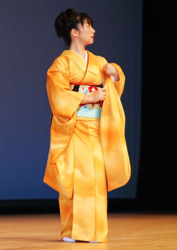 Golden Kimono III