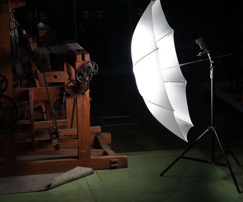 織物参考館 IX Lighting Setup