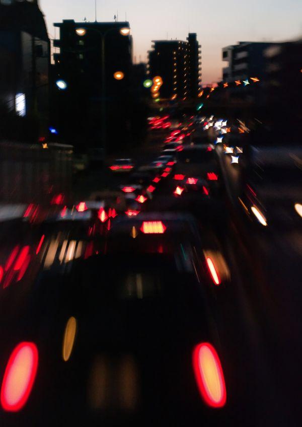 Evening Rush Hour in Tokyo II