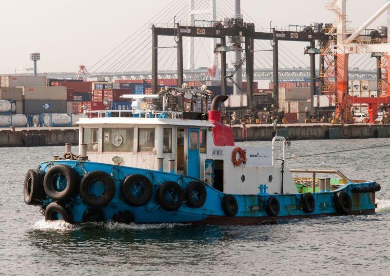 Tugboat Koufuku-Maru (Yokohama)