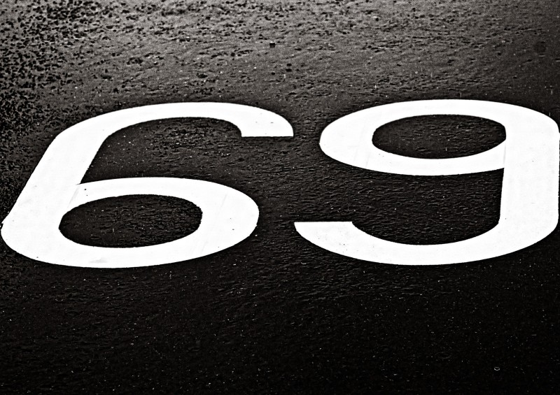 Sixty-Nine Outdoors in the Rain