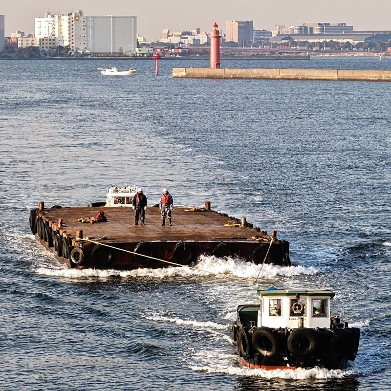 Unknown Towboat (Tokyo)