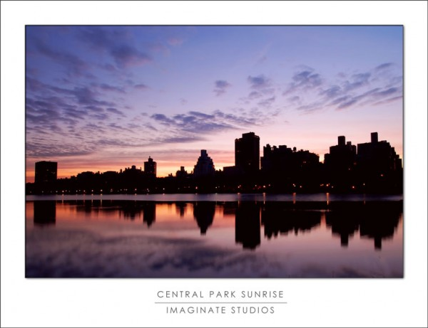 Morning at central park