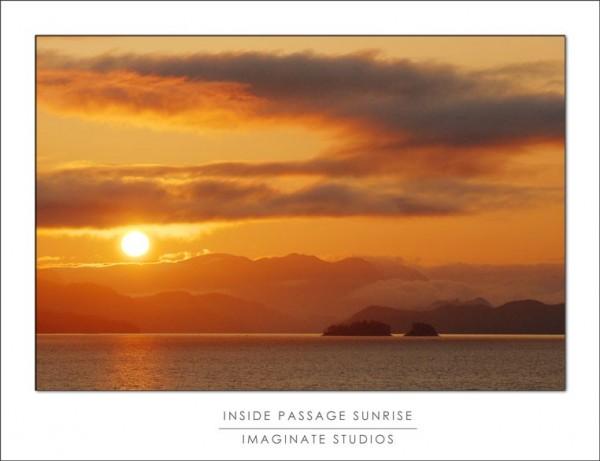 Inside Passage Sunrise