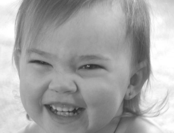 big smiles.