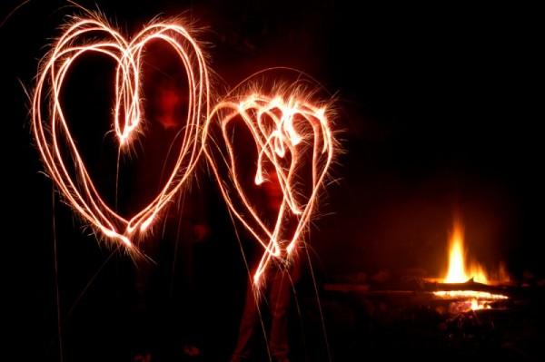 sparklers.