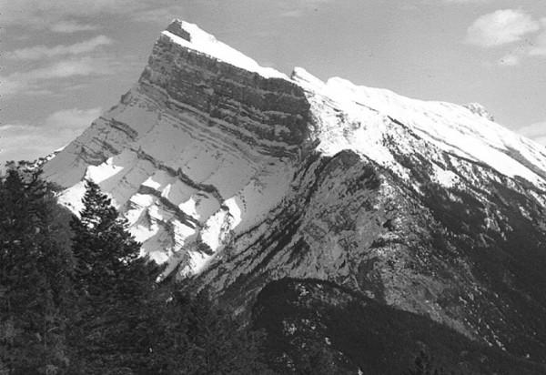 Mt. Rundle, Banff, Alberta, Canada