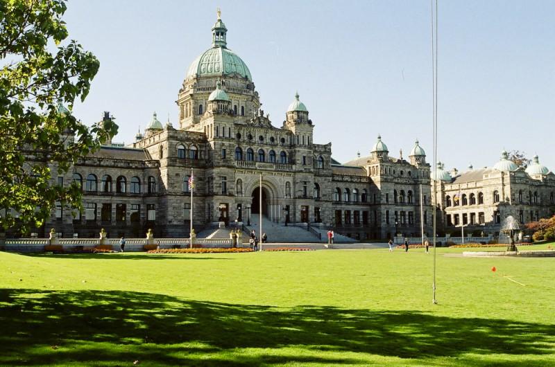 Parliament Bldg. Victoria, BC, Canada