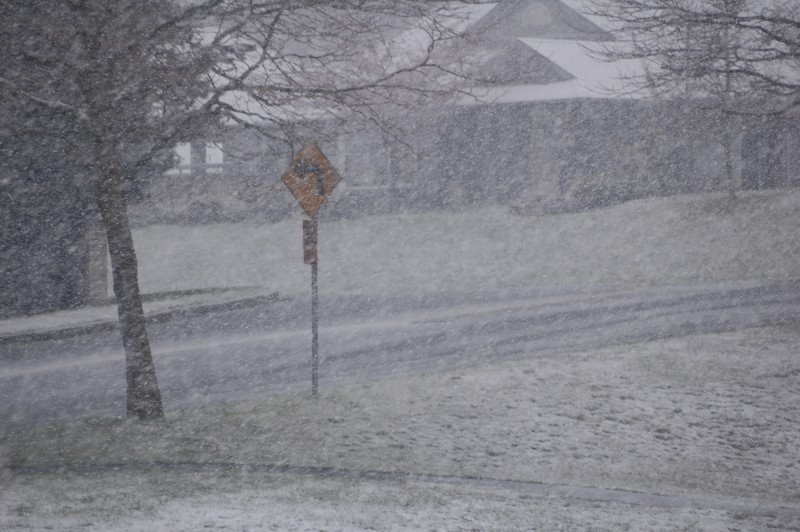 Snow on April 1st
