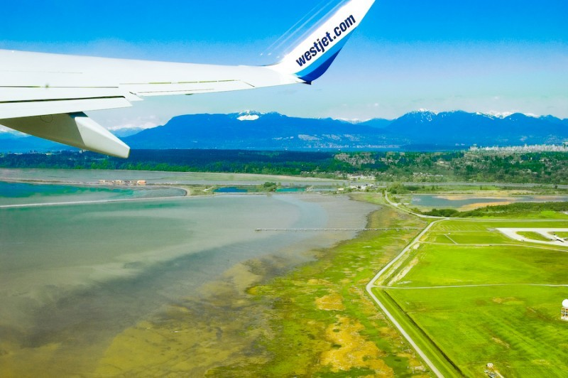 Take Off From Vancouver International