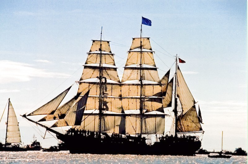 The Tall Ships Came To Vancouver