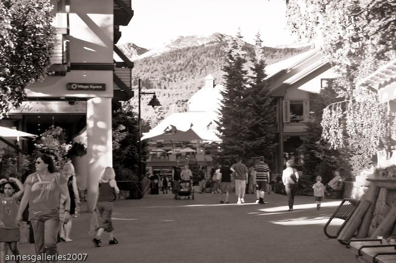 Heading Towards The Ski Slopes
