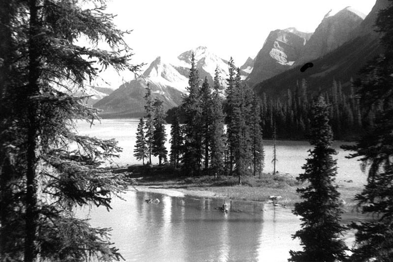 Maligne Lake, Jasper,