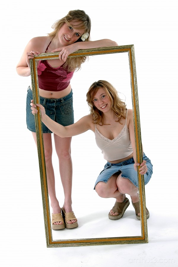 "friends frame portrait ""high key"""