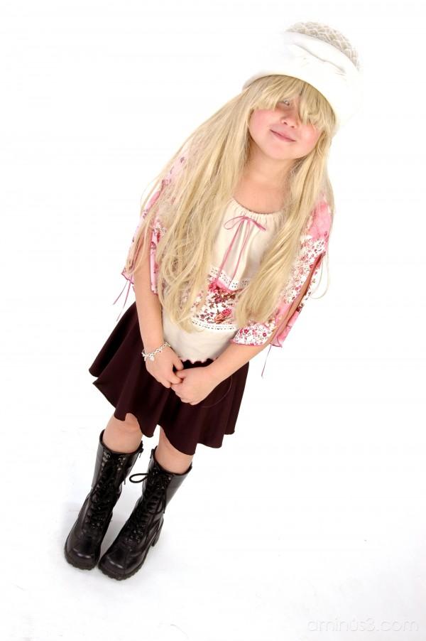 """dress up"" portrait highkey kids"