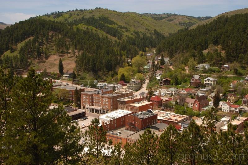Deadwood town