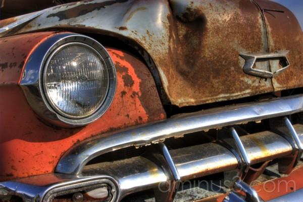 HDR car old antique