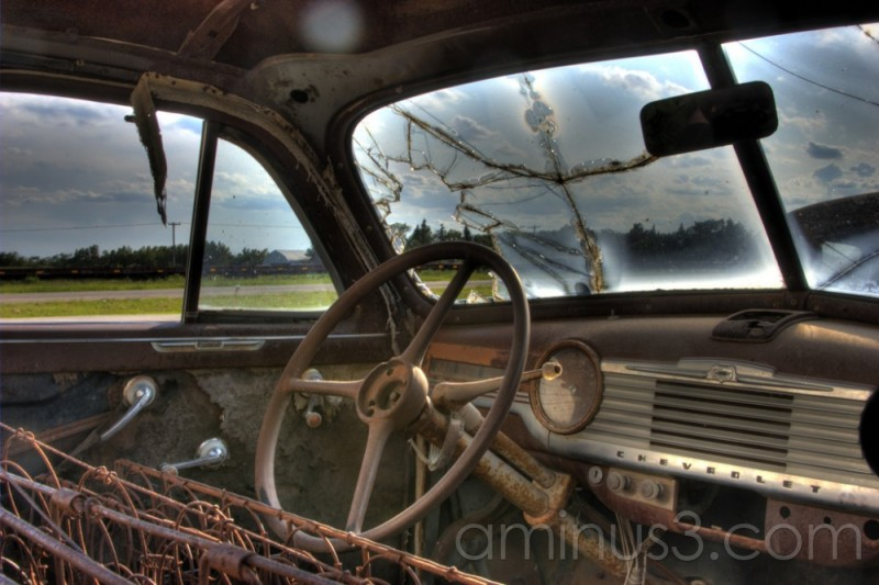 Abandoned, Car, Saskatchewan