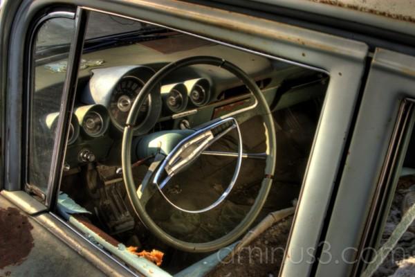 HDR, abandoned, Car, Saskatchewan